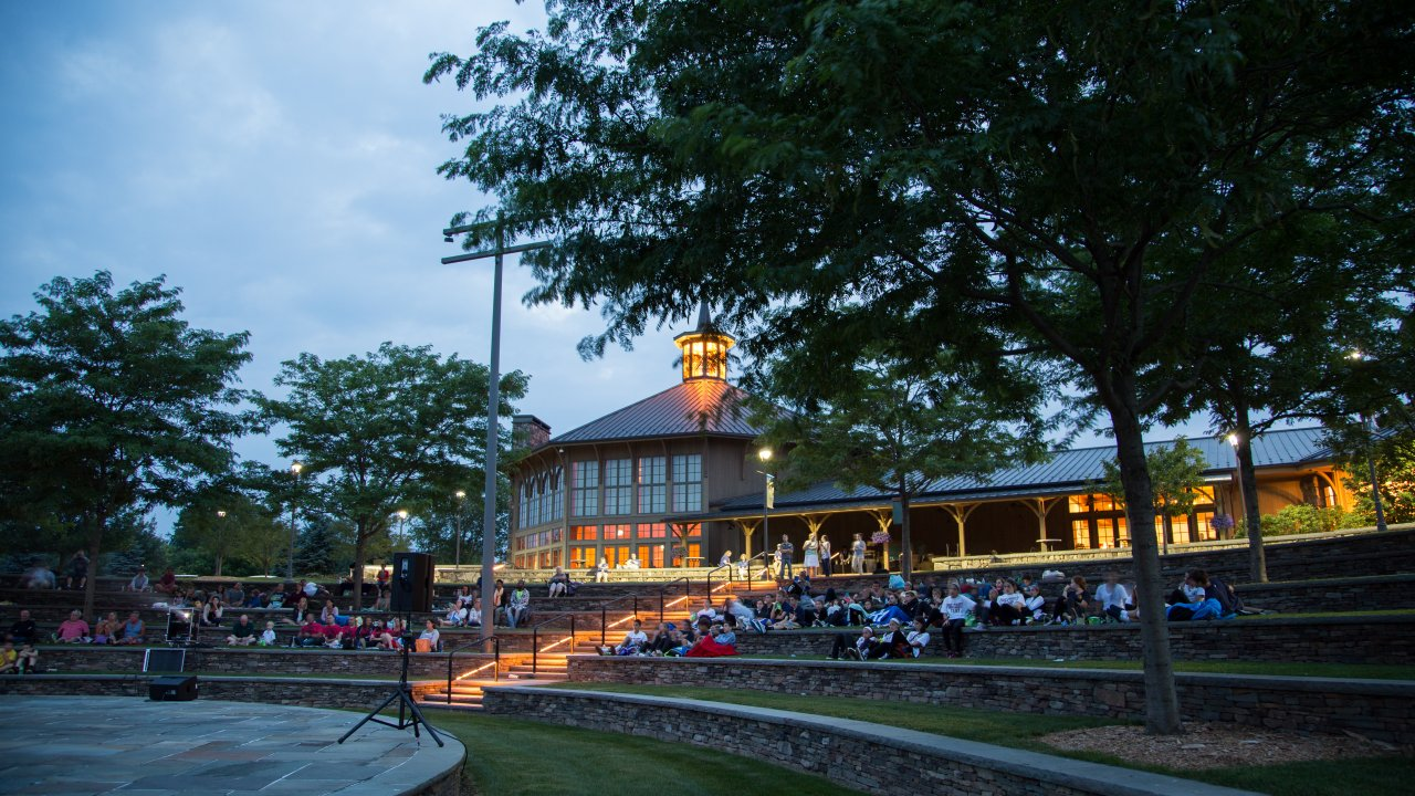 outdoor films at Bethel Woods