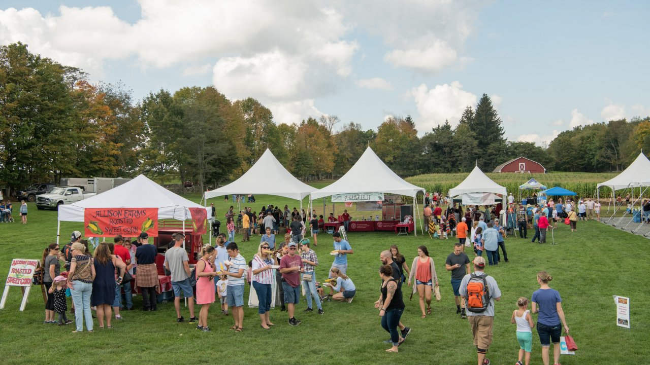 harvest festival at Bethel Woods