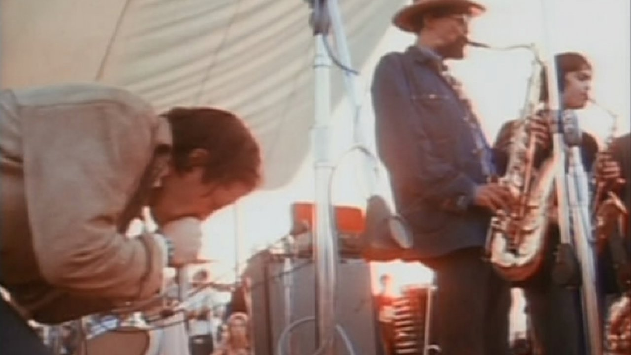 Paul Butterfield at Woodstock