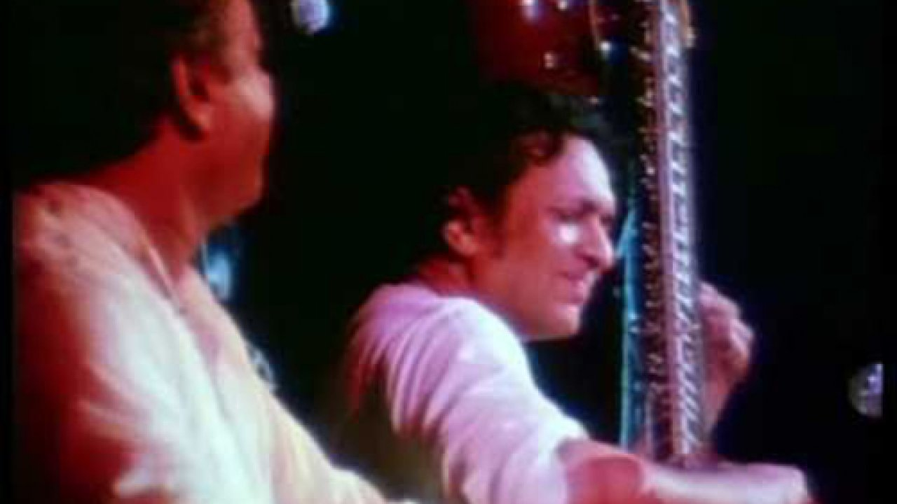 Ravi Shankar at Woodstock
