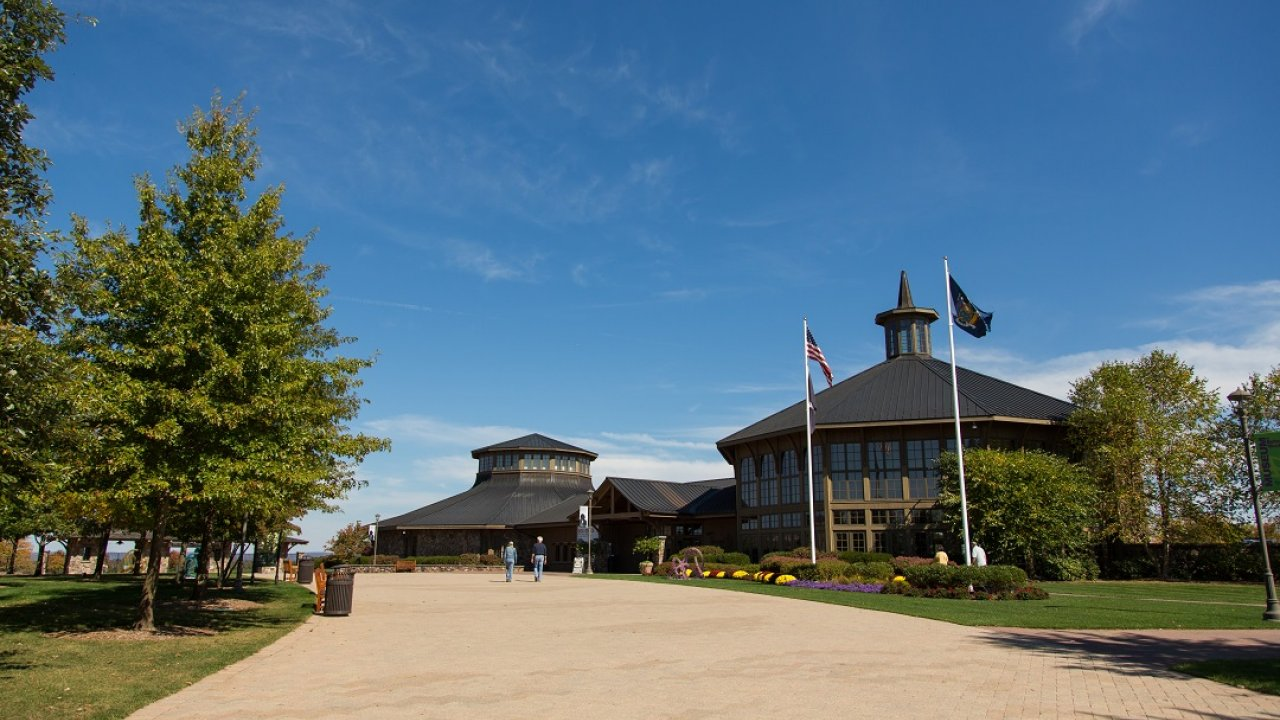 Bethel Woods Center for the Arts campus