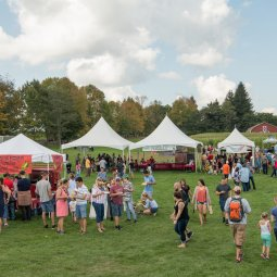 The Harvest Festival at Bethel Woods featuring the Abandoned Hard Cider Garden