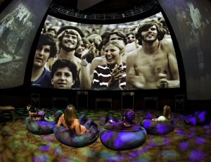 Chris-Ramirez-bean-bags-psychedelic-with-multi-screens