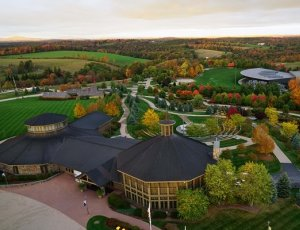 Aerial of Bethel Woods Grounds
