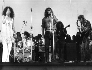 Jefferson Airplane performing at Woodstock