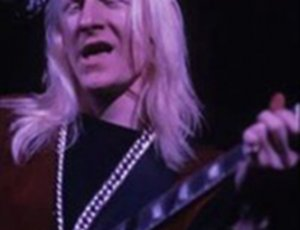 Johnny Winter performing at Woodstock