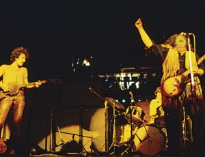 Mountain performing at Woodstock