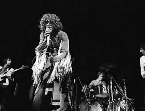 The Who performing at Woodstock