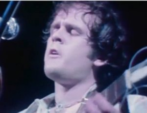Tim Hardin performing at Woodstock