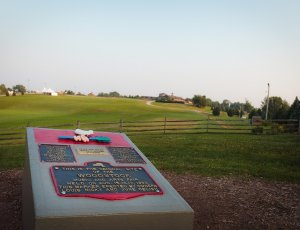 Woodstock monument at Bethel Woods