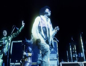 Sly and The Family Stone performing at Woodstock