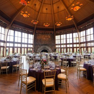 Event Gallery set up for wedding at Bethel Woods