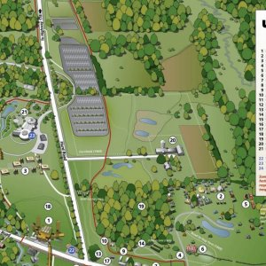 woodstock festival grounds map