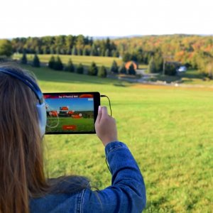 Meet Me At Woodstock: An Augmented Reality Adventure