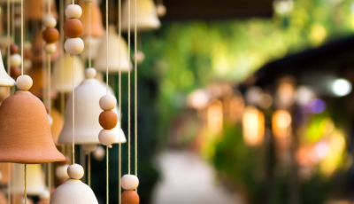 Create Your Own Winged Wind Chime