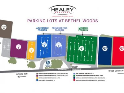parking lots at bethel woods